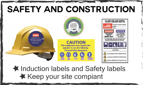 safety & construction labels